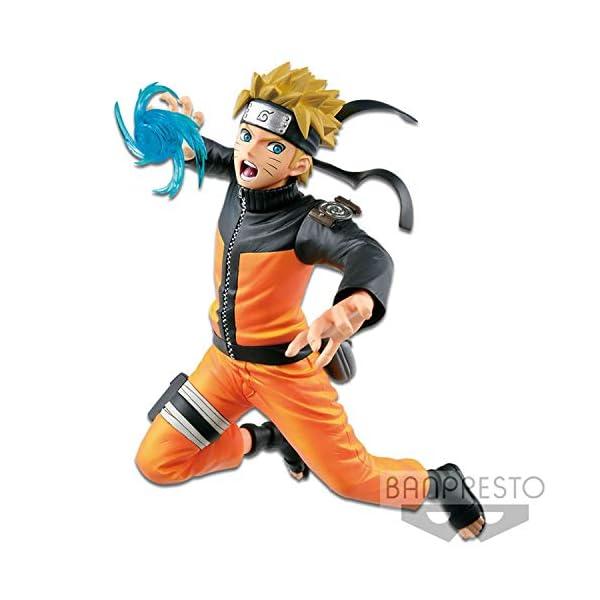 Banpresto Shippuden Estatua Vibration Stars Uzumaki Naruto, Multicolor (BAN85213) 1