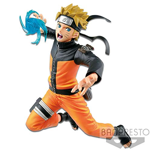 Banpresto Shippuden Estatua Vibration Stars Uzumaki Naruto, Multicolor (BAN85213)