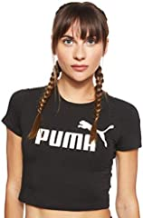 PUMA Amplified Logo Fitted tee - Camiseta Mujer