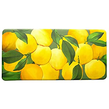Kitchen Anti-Fatigue Mats - Lemons, 20  x 39 , 1/2  thick