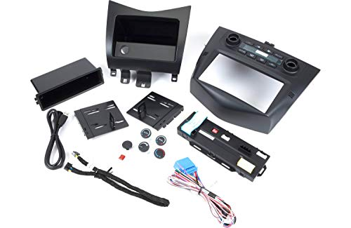 PAC RPK4-CH4101 RadioPRO Integrated Installation Kit with Integrated Climate Controls for Select 2013-2018 RAM Truck and 2019 RAM Classic Vehicles with 4 USB Port Car Charger for Front and Back Seats