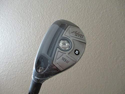 Adams Golf Men's XTD Ti Hybrid Club, Left Hand, Graphite, Stiff, 18-Degree -  M2635609