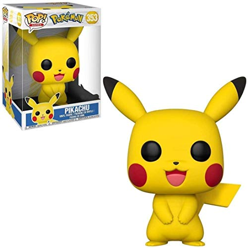 USA OFFICIAL Pikachu Funko Pop 353 9 cm Figura de vídeo Ash