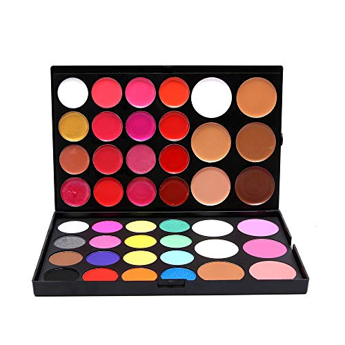Pro 44 Colors Eyeshadow All In One Makeup Palette Cosmetic Contouring Kit Combination with...