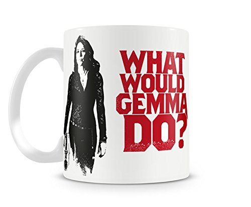 Offizielles Lizenzprodukt What Would Gemma Do Kaffeetasse, Kaffeebecher