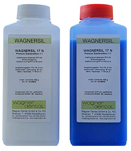 Wagnersil 17 N Premium Silicone de duplication (souple) 1 kg