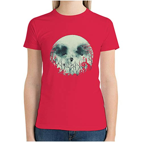 Halloween Horror Before Christmas Jack Tshirt Workout Tee Ultra Cotton Crew Neck Comfort Unique Dry-Fit Moisture Wicking for Outdoors red1 XL