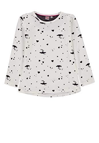 Kanz Mädchen 1/1 Arm T-Shirt, Weiß (Snow White White 1050), (Herstellergröße: 92)