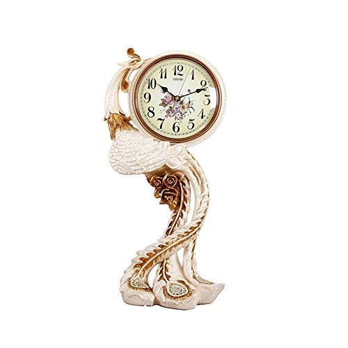 Reloj Despertador Reloj de mesa moderno de la resina Casa en la cama de la cama de la cama de la cama del reloj del reloj del reloj del reloj del reloj de cristal del reloj del reloj del reloj del rel