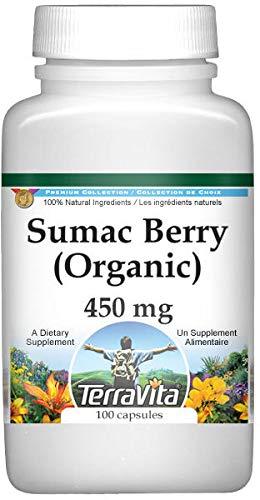 Sumac Berry (Organic) - 450 mg (100 Capsules, ZIN: 516466) - 2 Pack