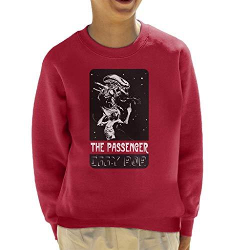 The Passenger Alien Iggy Pop Kid's Sweatshirt