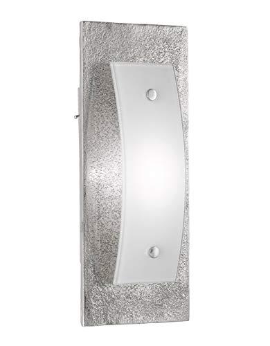 Fischer & Honsel Wandleuchte, Aluminium, 6.6 W, Nickel Antik, 25 x 11 x 6,5 cm