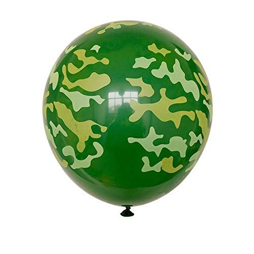 LASISZ Metallic Gold Silber Blau Rose Grün Lila Ballon Hochzeit Alles Gute zum Geburtstag Latex Metall Chrom Luftballons Luft Helium Balon, Schokolade, 5St