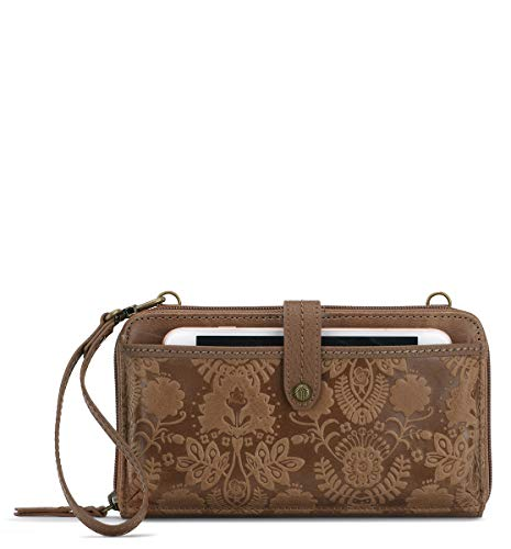 The Sak Women's Iris, Tobacco Floral Embossed