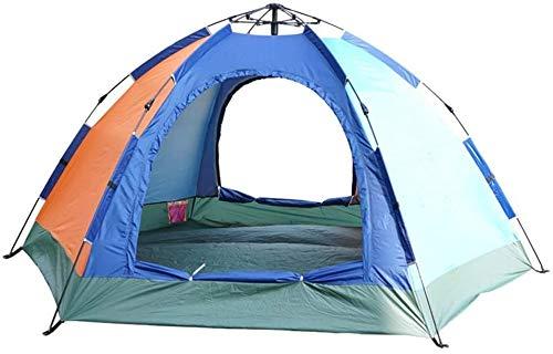 Außenzelt Hexagonal Automatische Frühling Zelt Camping-Zelt-einlagige Wasserdichtes Umweltfreundlicher Stoff Für Strand, Outdoor, Reisen, Wandern, Camping