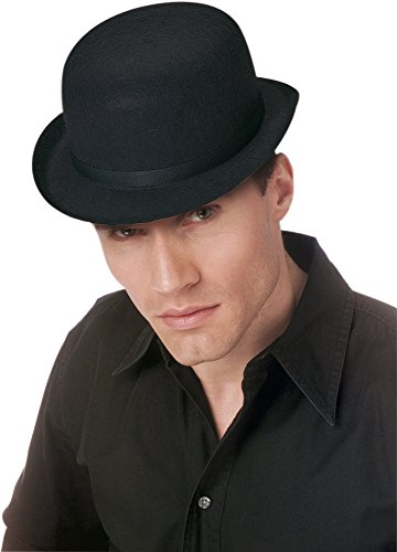 Rubies - Sombrero bombín, color negro (H04)