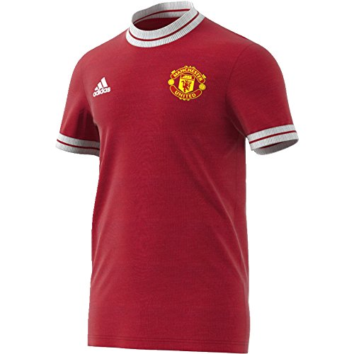 adidas Herren Manchester United Icon Trikot, rot, M-48/50