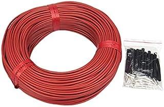 DZF697 1pc 10m Fil de Carbone Fil électrique Longueur Longueur 150Watt Chauffage Infrarouge câble Chauffage au Sol (Couleu...