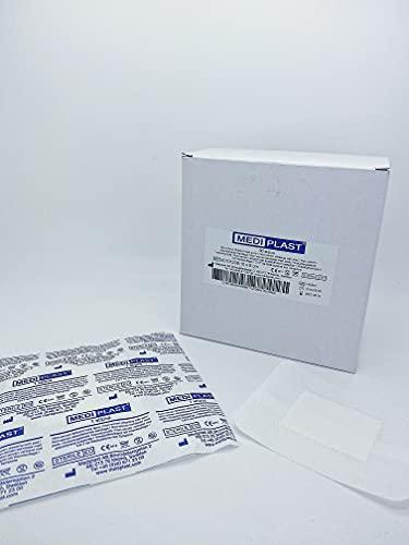 Mediplast non-woven Eilandpleister 10cm x 8cm - Doos 50 Stuks
