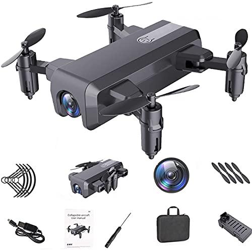 J-Clock El Juguete del Mini niño del Control Remoto Plegable del Drone se Aplica a la profesión del Mejor Regalo del Principiante Adulto