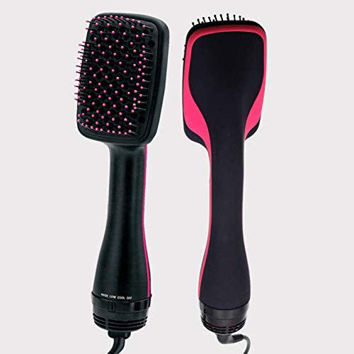 Nortongrace luxuriös Professional One Step Hair Blower Dryer Salon Smooth Brush Straighter(None US American Rules)