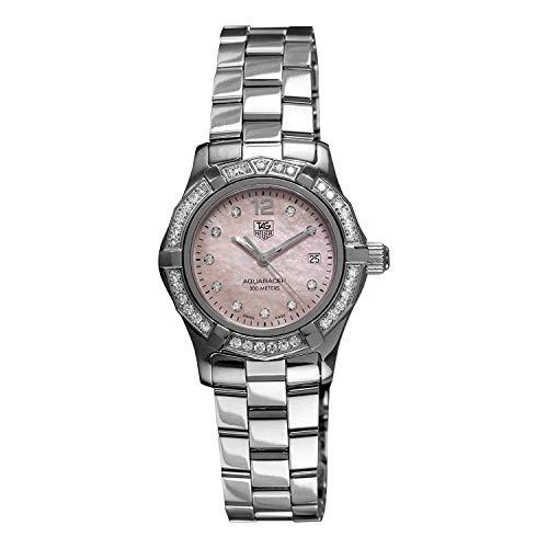 Tag Heuer Aquaracer WAF141B.BA0824 - Reloj de cuarzo suizo para mujer (certificado prepropietario)