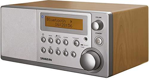Sangean DDR3-1BT - Radio DAB (Reloj, digital, DAB+, FM, 4 W