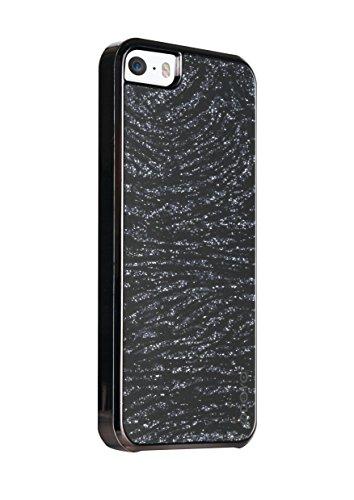 Odoyo Glamour In custodia con motivo zebrato, per Apple iPhone 5/5S