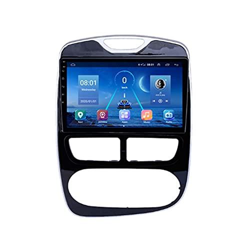GOHHK para Renault Clio 3 4 Coche Radio 2013-2018 Video Multimedia Player GPS Navigation 360 Sony Cámara Carplay 4G 64G Octa Core 2 DIN(Size:B,Color:WiFi:1GB+16GB)