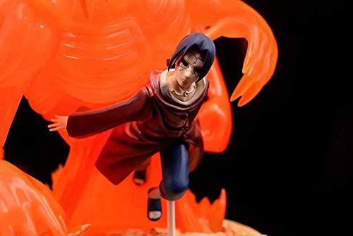 Naruto Gk Uchiha Itachi 12 6 Pulgadas Susanohn Fight Positio Anime Carácter Modelo PVC Estatuilla Estatua Figura Dibujos Animados Juego Objetos de Juguetes Adultos Coleccionables