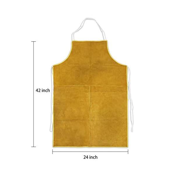 Mrcartool Leather Welding Work Apron 2