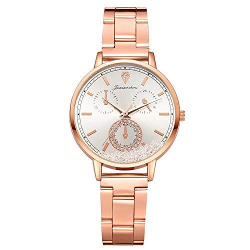 Relojes Para Mujer Tipo de cinturón de mujer Reloj Rosa Oro Relojes Fronteriza Relojes Damas Reloj casual Pulsera para reloj de moda Reloj de aleación de moda Relojes Decorativos Casuales Para Niñas D