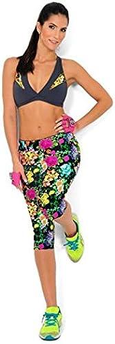 Xuanytp Pantalon de Yoga Taille Haute Impression De Fleurs Femme Fitness Leggings Pantalon Punk Leggings Leggings