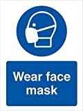 Prevent COVID-19 Safety Sign Vinly Decal - Stop Coronavirus - Personal Protective Equipment Signs Safety Sign...