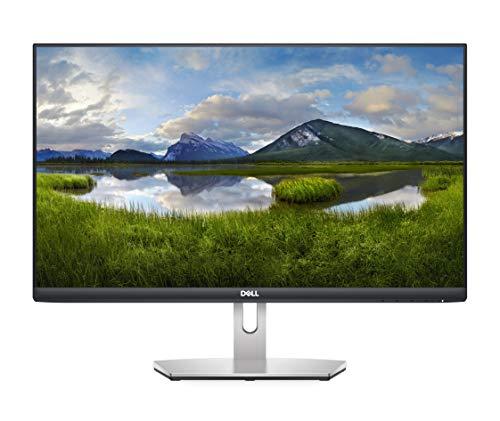 Dell S2421HN, 24 Zoll, Full HD 1920x1080, 75 Hz, IPS entspiegelt, 16:9, AMD FreeSync, 4 ms (extrem), neigbar, VESA, HDMI, 3 Jahre Austauschservice, platinum silber