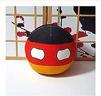 ポーランドボールぬいぐるみアニメカントリーボールショートぬいぐるみコスプレ枕ギフトおもちゃキッズバースデーギフト約20cm