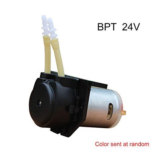 Micro-Peristaltik-Flüssigkeitspumpe Kleine geräuscharme, selbstansaugende DC24V-Pumpe für Labordosierung Analytisches L-Typenschild BPT-Röhrchen