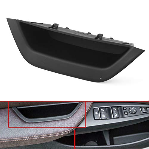 GZYF Car Auto Interior Inner Door Handle Pull Trim,Driver Side Door Armrest Cover for BMW X3 X4 F25 F26,for BMW X3 F25 2010-2016,for BMW X4 F26 2014-2017, Front Left Side, Black