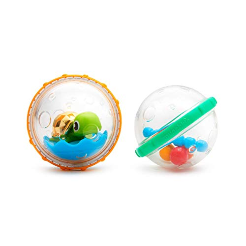 Munchkin Float and Play Bubbles Bath Toy, Pack of 2