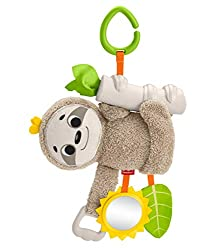 sloth stroller toy