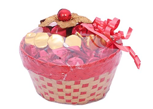 Skylofts Lovely Chocolate Basket with 25pc Chocolates (Chocolate Basket)