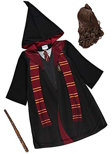 George Harry Potter Hermine Granger Gryffindor Kostüm (9-10 Jahre) Einteiliges Kostüm