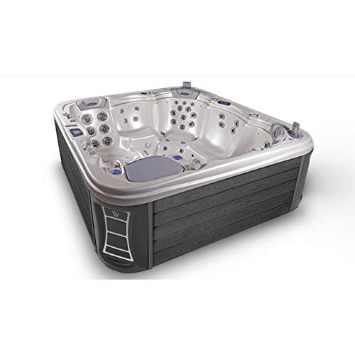 Wellis Everest Whirlpool Outdoor Außenwhirlpool für 5 Personen inkl. Thermoabdeckung