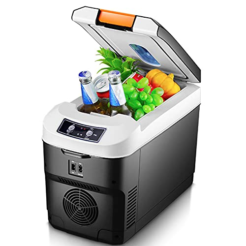 Flower stand Mini Nevera 12 litros Portátil Mini Nevera Cosmeticos, Mini Refrigerador 12v/220v para Enfriar Y Calentar Nevera Pequeña Y Silenciosa para Skincare Alimentos, Bebidas Cuidado De La Piel