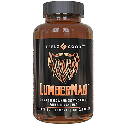 Lumberman Premier Beard & Hair Growth Vitamin...