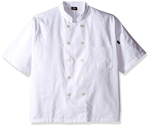 mens short sleeve chef coat - 8