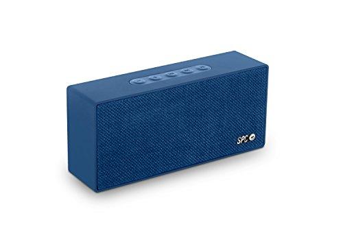 SPC Bang Speaker altavoz bluetooth color negro con acabado en tela y potencia de salida 8W