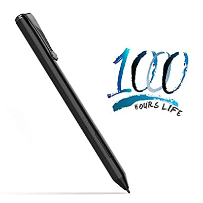 AWAVO Stylus Pen Compatible with Microsoft Surface, Digital Pen with Palm Rejection, 2 Different Tips, 4096 Pressure Points, Compatible with Surface Pro Series/Book/Go/Studio/Neo/Laptop