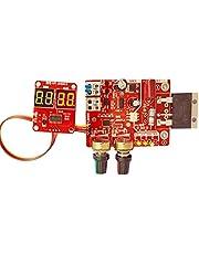 Spot Welder Control Board NY-D01 100A Digitale display Spot Lassen Tijd Huidige Controller Panel Timing Ampèremeter Rood