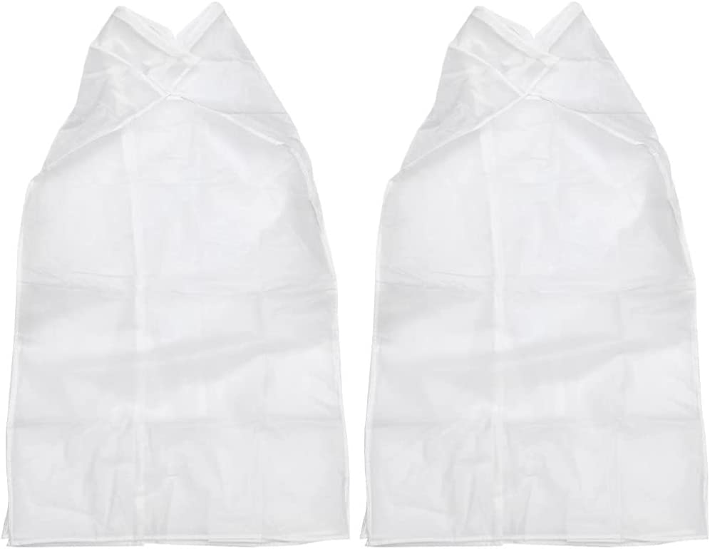 iplusmile 2pcs Garment Cover Bags Translated Dust NEW before selling ☆ Suit Proof Clear Hanging
